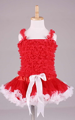 Lovely Petti Tops With Matching PettiDress Set Cotton/Tulle Flower Girl Dress