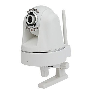  H.264 Pan Tilt Plug & Play IR-cut Wireless IP Camera with SD Card Slot Day & Night