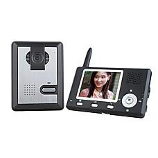 venta al por mayor cámara de visión nocturna inalámbrica + 3,5 pulgadas de monitor de teléfono de la puerta