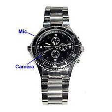 venta al por mayor HD cámara espía reloj con detección de movimiento + memoria interna de 8 GB