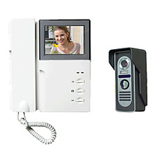 venta al por mayor 4 cables de vídeo 4 pulgadas a color timbre de la puerta de intercomunicación (sy352lm11)