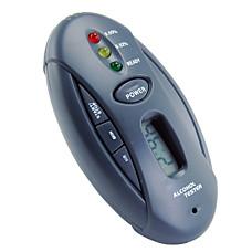 venta al por mayor llavero alcoholímetro coche gadget linterna con cronómetro (se065)