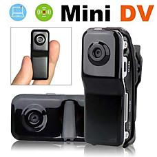 venta al por mayor mini dv mundo más pequeño grabador de voz de bolsillo cámara de vídeo DVR videocámara (dc038)