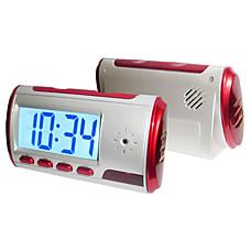 venta al por mayor espía reloj de la cámara digital con control remoto y detección de movimiento