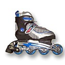 Rollerblade Youth Adjustable In Line Skates Shoes Size US 2.5-4/EU 30-33 (PF105.1)
