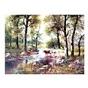 Handmade Landscape Art Oil Painting on Canvas (GH-020) (Start From 20 Units)-Free Shipping