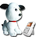 Wireless Baby Monitor-Camera In Nose Of Puppy Soft Toy (AF023) (Start From 5 Units)-Free Shipping