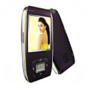 design suave 1gb mp4 / mp3 player de vídeo portátil - altifalantes de alta qualidade (cavs008)