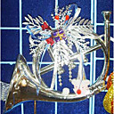 Santa Christmas Ornament Horn (GJ019) (Start From 30 Units)-Free Shipping