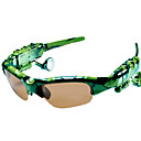 gafas de sol con 1gb reproductor de mp3 y bluetooth verde