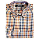 Top Grade Men's Long Sleeve Twill Wrinkle Dress Shirt (QRJ013-4) -Free Shipping by Air Mail