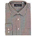 Top Grade Men's Long Sleeve Twill Wrinkle Dress Shirt (QRJ013-3) -Free Shipping by Air Mail