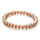 Pink 6.5-7 mm A Freshwater Pearl Bracelet (DSZZ082) (Start From 5 Units) -Free Shipping