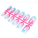 12 Pcs Special Design Art Acrylic False Nails Tips  (Start From 50 Units)