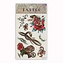 Animal Temporary Tattoos One Sheet  (Start From 50 Units)