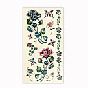 Flower Temporary Tattoos One Sheet  (Start From 50 Units)