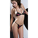 hot sexy Dessous Teddy schwarzen Bikini Set (lrb3094)
