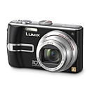Panasonic Lumix DMC-TZ3 Black 7.4MP Digital Camera