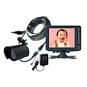 5-inch Wired Baby Monitor With One Wired Night Vision CCD Camera