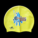 Yingfa Silicone Swim Caps Yellow (PJ008) (Start From 10 Units) Free Shipping