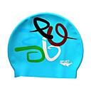 Brand New SPURT Blue Silicone Swim Swimming Caps (KYF033)