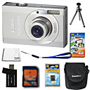 Canon IXUS 90 / PowerShot SD790 IS 10MP Digital Camera + 2GB SD Card + Extra Battery + 6 Bonus
