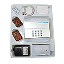 Ten Wireless Guard Zones One Wired Guard Zone Intelligent House Alarm System (SZQ230)