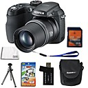 Fujifilm Fuji FinePix S1000fd 10.0MP Digital Camera+ 8GB SD Card + 6 Bonus