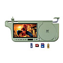 7-inch Sunvisor DVD Player /FM / USB &amp; SD Function 2710