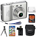 Nikon Coolpix L16 7.4MP Digital Camera + 2GB SD Card + 6 Bonus