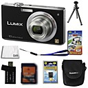 Panasonic Lumix DMC-fx36 (FX35) cmera digital 10.7mp + Carto SD de 4 GB + Bateria extra + 6 bnus