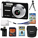 Olympus FE-340 8.4MP Digital Camera + 1GB xD Card + Extra Battery + 6 Bonus