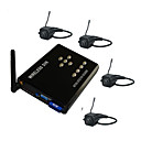 2.4Ghz Wireless Motion Detect Four Channel DVR with 4x CMOS Pinhole Cameras Kit