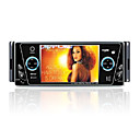4-inch Touch Screen 1 Din In-Dash Car DVD Player TV and Bluetooth - Detachable Panel JZY-0701 SZC439