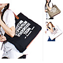 Breathtaking High Quality Canvas Tote Shoulder Bag with Twill Cloth Lining M5226 (XXBC022)