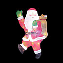 Double Faced Mesh Silhouette Santa Light (SDQ315)