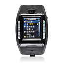 F3 Tri-band Watch Style Cell Phone Black
