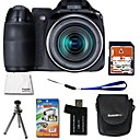 Fujifilm Fuji FinePix S2000HD 10.0MP Digital Camera with 2.7-inch LCD + 4GB SD + 6 Bonus (SZW593)