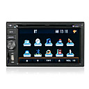 6.2-inch Touch Screen 2 Din In-Dash Car DVD Player GPS Function DT-6201G