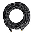 5M HDMI Cable Male to Male 24AWG with Ferrite Core for PS3 DVD HDTV(Z-201)