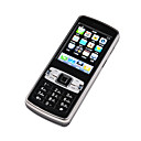 LANYE N70  Projection Touchscreen  Cell Phone Black&Silver (Not For U.S/Canada) (SZR295)