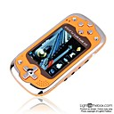 2 GB 2,8-Zoll-MP3 / MP4-Player mit Digitalkamera &amp; Karten-Slot orange (szm100)
