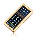 K880  Dual Card  Pure Dual Touch Screen FM Cell Phone  Gold&amp;Black (Not For U.S/Canada) (SZR473)