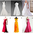 Unique and Fashionable Dresses for Wedding / Party  6 Pieces Per Package  (HSQC086)