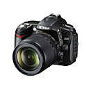 Nikon D90 reflex digitale 12.9mp + kit VR 18-105mm HDMI con fotocamera da 3,0 pollici a cristalli liquidi live view (szw749)