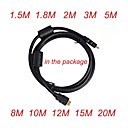 HDMI Cable Male to Male 28AWG with Ferrite Core for PS3 DVD HDTV - 10 Pieces Per Package(Z-502)