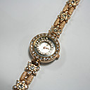 New Fashion Girl Lady Watch With Gold Accent on dial And Diamond Set on (Start From 5 Units)