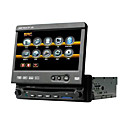 7-pulgadas, pantalla táctil 1 DIN Car DVD Player TV y sistema de gps bluetooth función 3901g