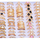 HOT &amp;Fashion jewelry mix Cubic Zircon rings (SZY1574) 120pcs/Lot