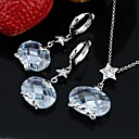 24K Gold Plate Shining CZ Jewelry Set-Cubic Zirconia Jewelry Set SDX-0049 (SZY1714)
